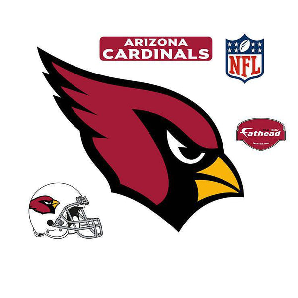 Arizona Cardinals Logo REALBIG Logo 54x40 Decal Sticker