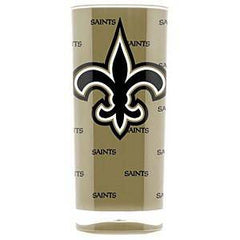NFL New Orleans Saints 16oz Insulated Square Acrylic Tumbler
