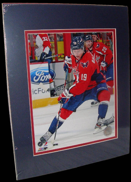 Nicklas Backstrom Washington Capitals Red Matted 8x10 Photo Picture Poster Print