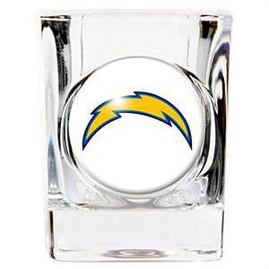 NFL San Diego Chargers Square 2 oz Shot Glass