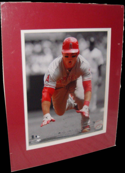 Mike Trout Los Angeles Angels Spotlight Matted 8x10 Photo Picture Poster Print