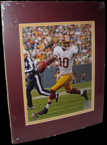 Robert Griffin III RG3 Washington Redskins Matted 8x10 Photo Picture Poster Print