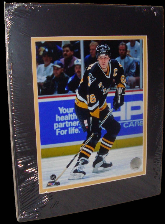 Mario Lemieux Pittsburgh Penguins Throwback Matted 8x10 Photo Picture Poster Print
