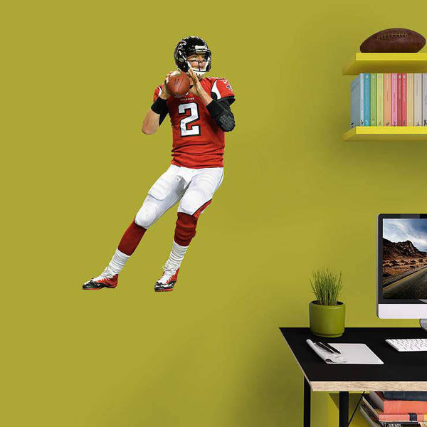 Atlanta Falcons Matt Ryan - Fathead Jr JUNIOR Player/Person 27x40 Decal Sticker