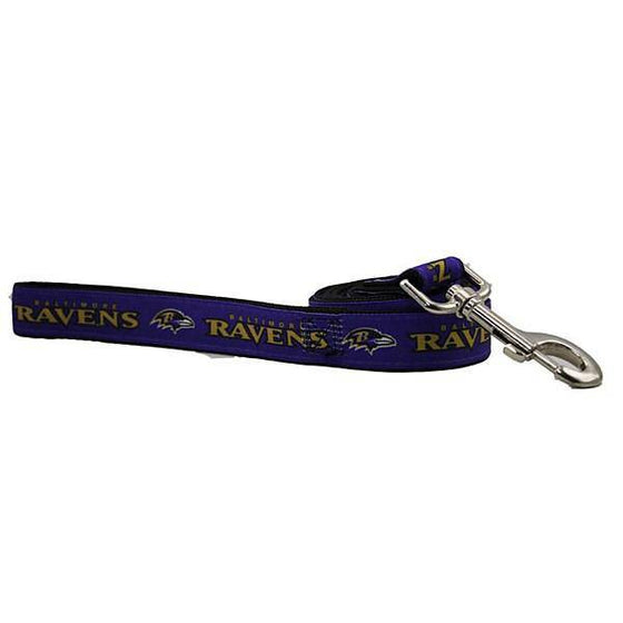 Baltimore Ravens Dog Leash 6 Feet Long
