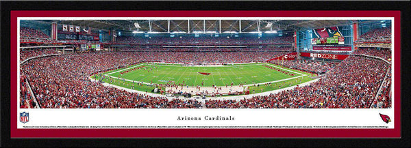 "Arizona Cardinals  University of Phoenix  17"" x 44"" Select Framed Panoramic Photo"