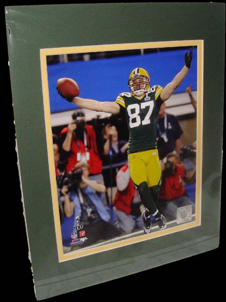 Jordy Nelson Green Bay Packers Super Bowl Matted 8x10 Photo Picture Poster Print