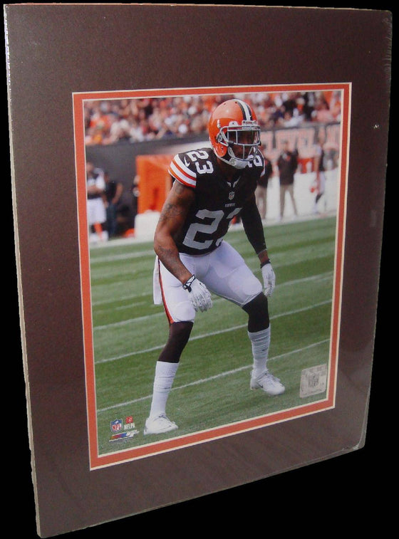 Joe Haden Cleveland Browns Matted 8x10 Photo Picture Poster Print