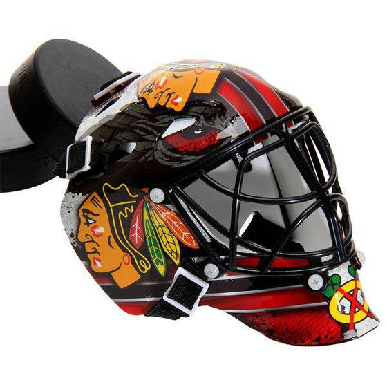 Chicago Blackhawks Mini Hockey Goalie Mask