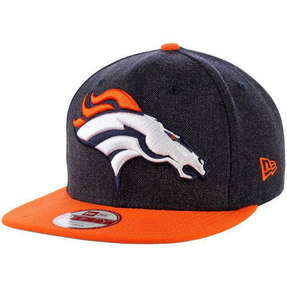 NFL Denver Broncos New Era 9Fifty Logo Grand Snapback Hat