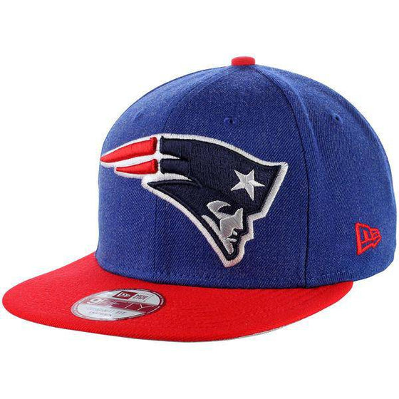 NFL New England Patriots New Era 9Fifty Logo Grand Snapback Hat - 757 Sports Collectibles