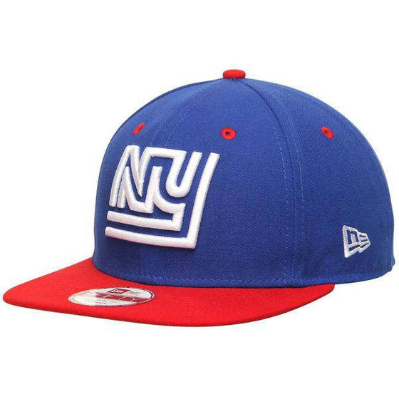 NFL New York Giants New Era 9Fifty Two Tone Throwback Snapback Hat