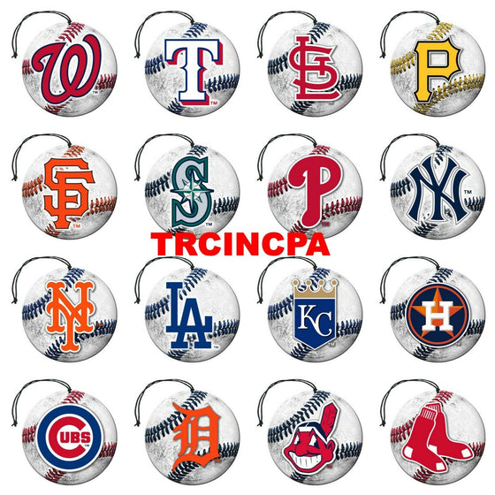 Team Promark - MLB - Air Freshener (3 Pack) - Pick Your Team - FREE SHIP