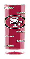 NFL San Francisco 49ers 16oz Square Insulated Acrylic Tumbler
