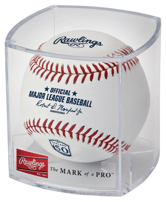 Rawlings Oakland Athletics Official 50th Anniversary MLB Game Baseball - Cubed
