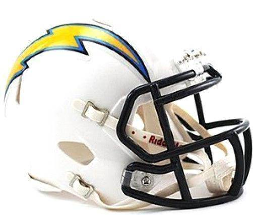 San Diego Chargers NFL Speed Mini Helmet