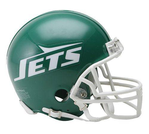 New York Jets Throwback NFL Green 1978-1989 Mini Helmet
