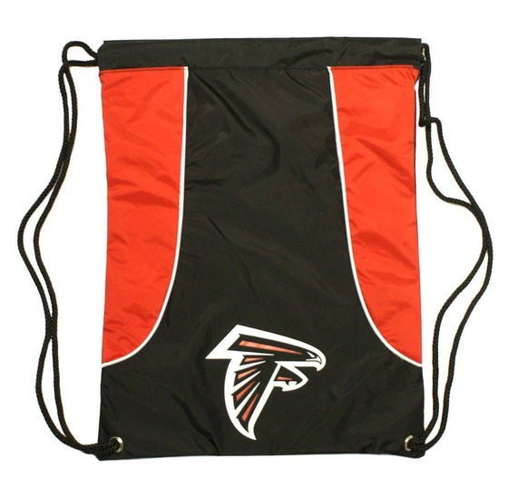 NFL Atlanta Falcons Axis Heavy Duty Machine Washable Team Logo Backsack - 757 Sports Collectibles