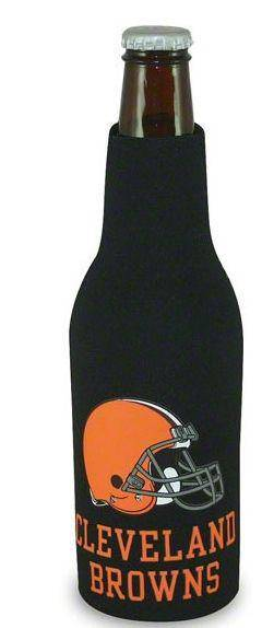 NFL Cleveland Browns Bottle Suit Koozie Holder Cooler