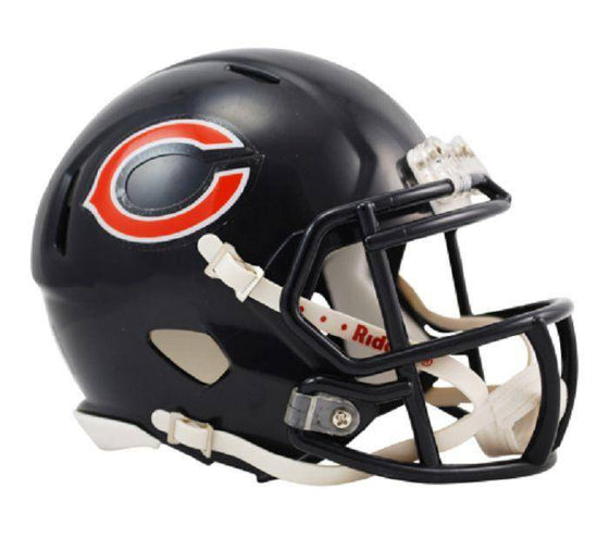 Chicago Bears NFL Speed Mini Helmet