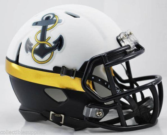 Navy Midshipmen 2012 Commander in Chief Speed Mini Helmet - 757 Sports Collectibles