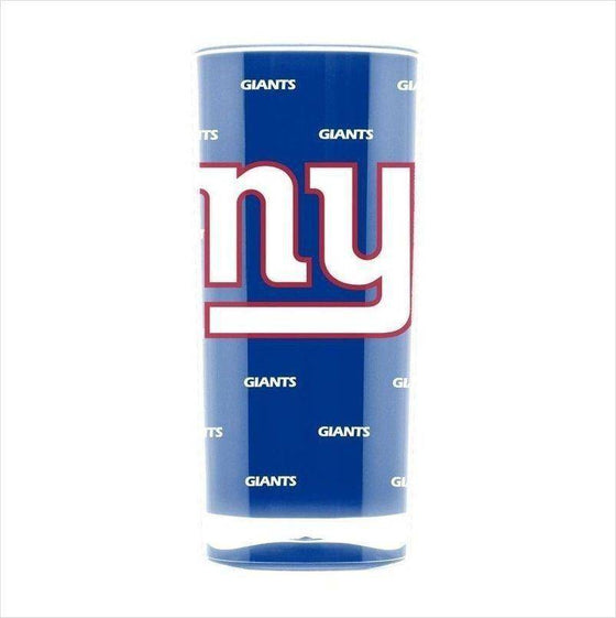 NFL New York Giants 16oz Insulated Square Acrylic Tumbler