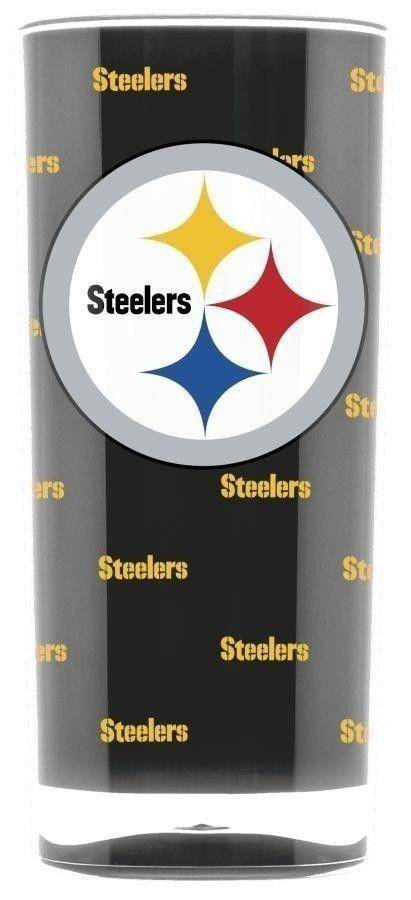 NFL Pittsburgh Steelers 16oz Square Insulated Acrylic Tumbler