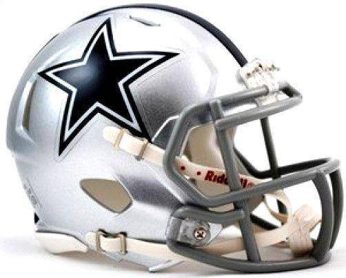 Dallas Cowboys NFL Speed Mini Helmet