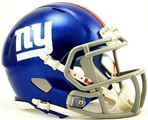 New York Giants NFL Speed Mini Helmet