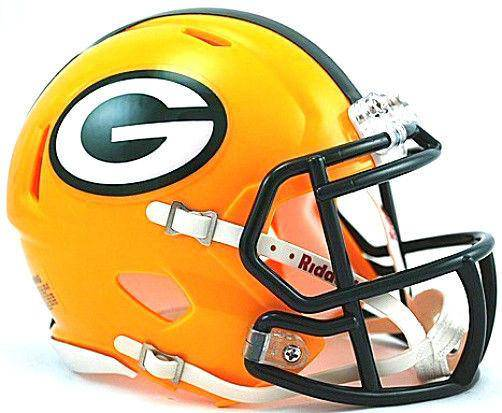Green Bay Packers NFL Speed Mini Helmet