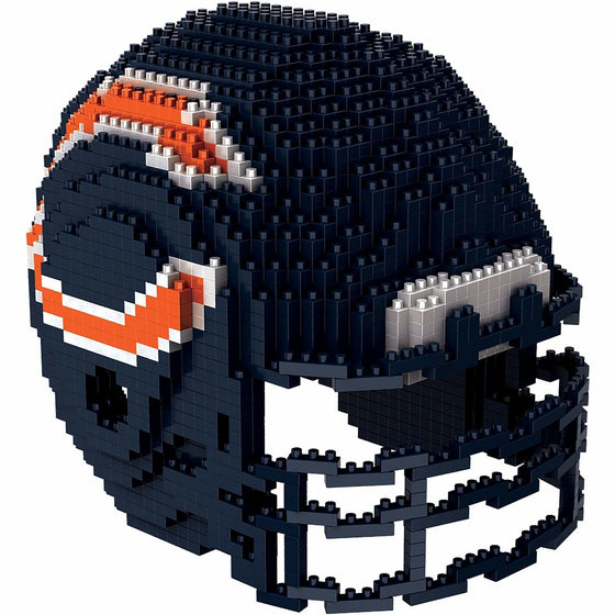 NFL BRXLZ Team Helmet 3-D Construction Block Set, PICK YOUR TEAM, Free Ship! (Chicago Bears)