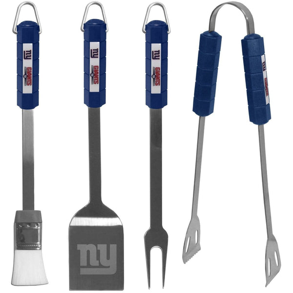 New York Giants 4 piece Barbecue BBQ Set