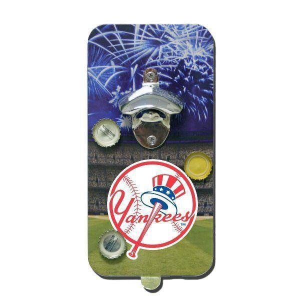 New York Yankees Click 'N Drink Heavy Duty Magnetic Bottle Opener