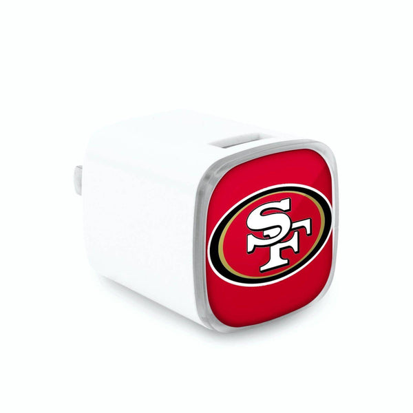 San Francisco 49ers Dual USB Wall Charger