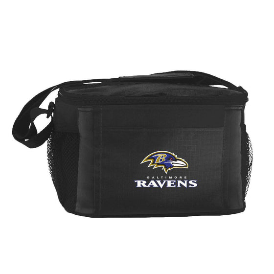 NFL Baltimore Ravens 6-Pack Cooler Bag Lunch Box - 757 Sports Collectibles