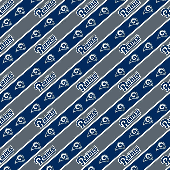 Forever Collectibles - NFL - Wrapping Paper - Roll - 20 Sq Ft (Los Angeles Rams)