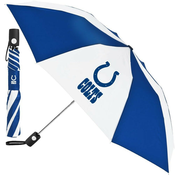 "Wincraft NFL - 42"" Auto Folding Umbrella - Pick Your Team - FREE SHIP (Indianapolis Colts)"