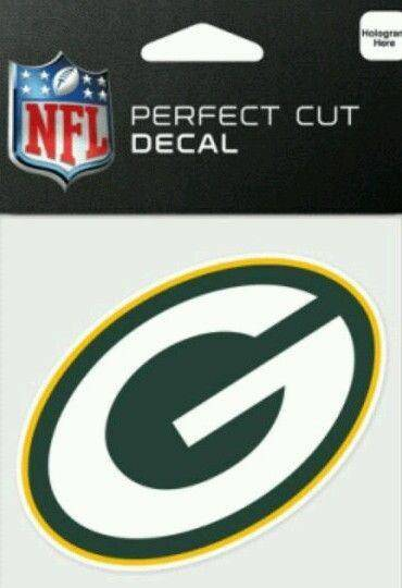 Green Bay Packers Perfect Cut 4x4 Diecut Decal - 757 Sports Collectibles
