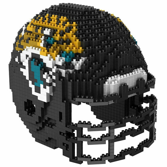 NFL BRXLZ Team Helmet 3-D Construction Block Set, PICK YOUR TEAM, Free Ship! (Jacksonville Jaguars)