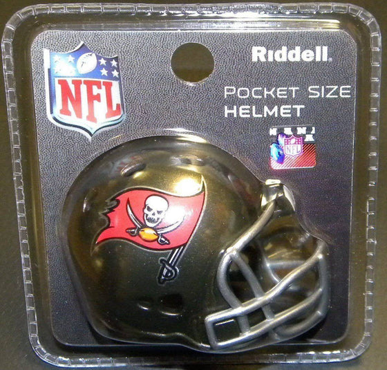 Tampa Bay Buccaneers Revolution Mini Pocket Pro Helmet