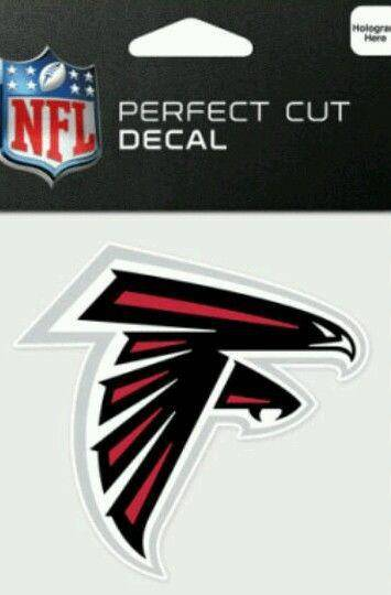 Atlanta Falcons Perfect Cut 4x4 Diecut Decal