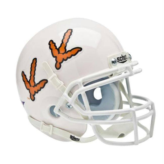 Virginia Tech Hokies White Turkey Tracks Mini Helmet