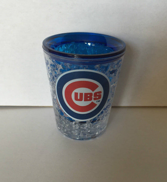 MLB Chicago Cubs Freezer Gel 2 oz Shot Glass