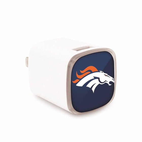 Denver Broncos Dual USB Wall Charger