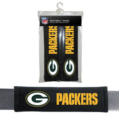 NFL Green Bay Packers Seat Belt Pad (Pack of 2)