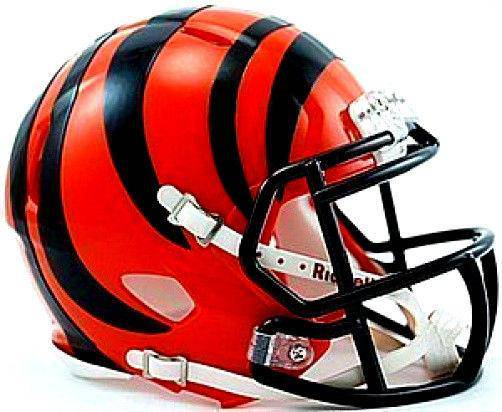 Cincinnati Bengals NFL Speed Mini Helmet