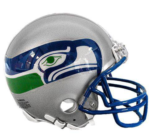Seattle Seahawks NFL Throwback 1983-2001 Mini Helmet