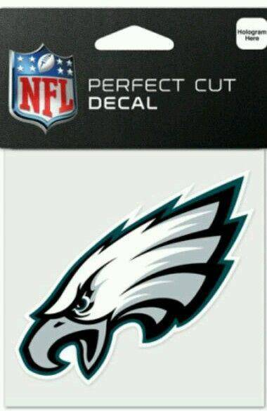 Philadelphia Eagles Perfect Cut 4x4 Diecut Decal