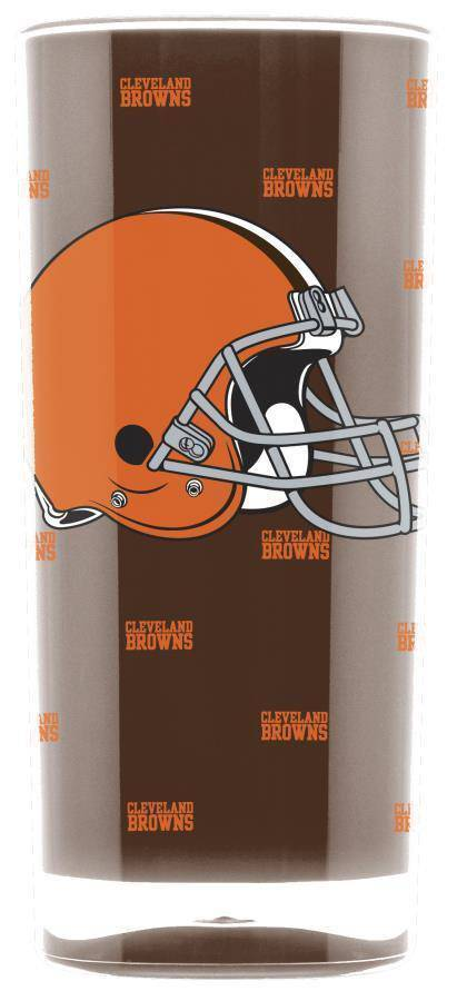 NFL Cleveland Browns 16oz Insulated Square Acrylic Tumbler