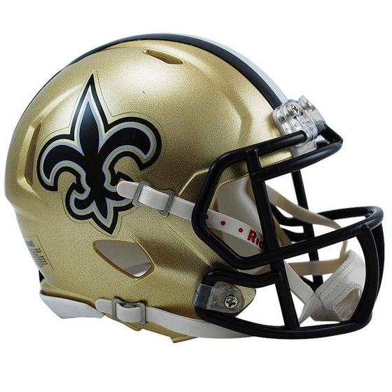 New Orleans Saints NFL Speed Mini Helmet - 757 Sports Collectibles